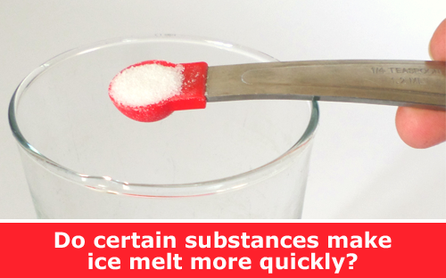 What Chemical Melts Ice the Fastest?